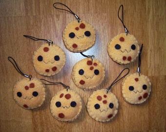 Cute Cookie Keychain