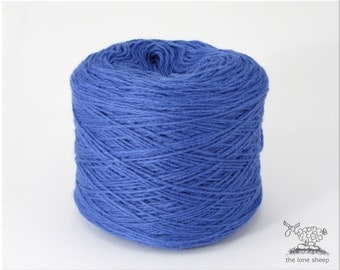 100% cashmere yarn, per 50 g, copen blue, heavy lace weight /Art.1