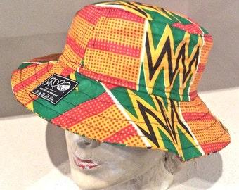 African Print Bucket Hat