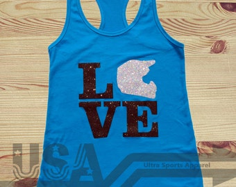 LOVE Dirtbike Customizable Tank Top