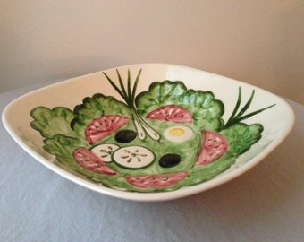 Los Angeles Pottery  1950's Salad bowl