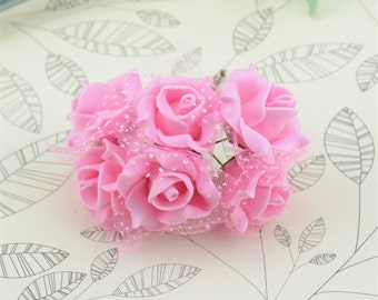 Artificial Lace Rose Flowers