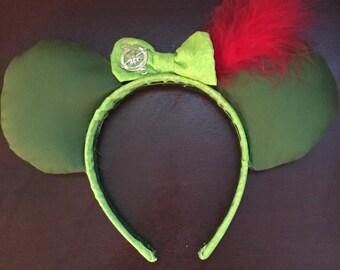 Peter Pan mouse ears headband