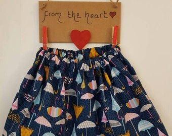 Little girls umbrella skirt