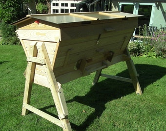 Top Bar Sheeps Wool insulated Bee Hive
