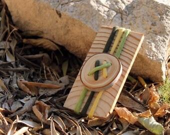 Natural bracelet wood