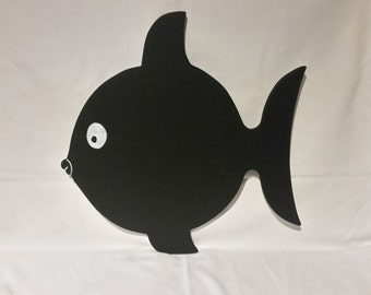 Childrens Fish chalkboard