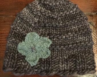 Soft merino wool skullcap