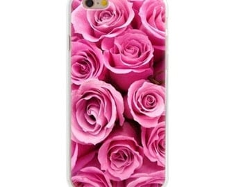 Pink Rose - Iphone 6/6s - Phone Case - Flower - Floral - Roses