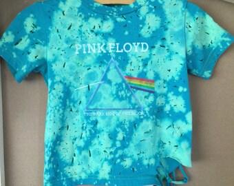 Custom Baby Pink Floyd tee 18 months