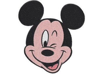 Mickey mouse Machine Embroidery Design -- SB623