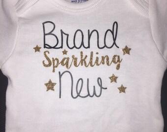 Brand sparkling New onesie Newborn/0-3m