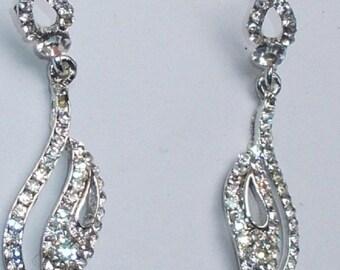 Handmade Silver Chandelier Earrings