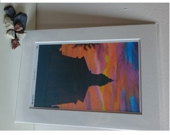 St. James, Guernsey – Limited Edition Print of Original Oil Painting by Nicki Burridge