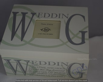 Wedding Memory Box Keepsake Box Wooden Wedding Vows To Love And To Hold From This Day Forward F1079