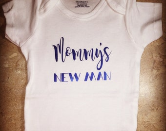 Mommy's New Man onesie