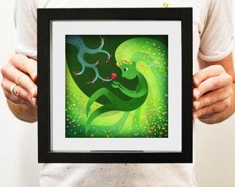 Blossom Faerie - Illustration Print
