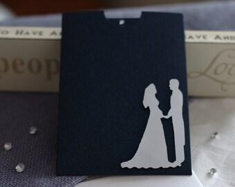 Rhyming wedding invitation sample