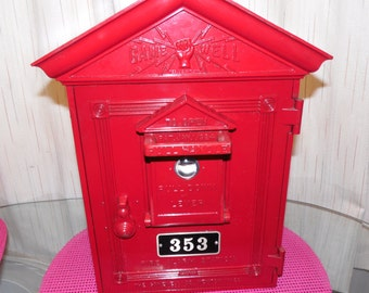 Antique GAMEWELL Fire Alarm Box