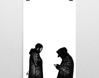 Streetwear Illustration Poster @emileftimov | @vivianfrank
