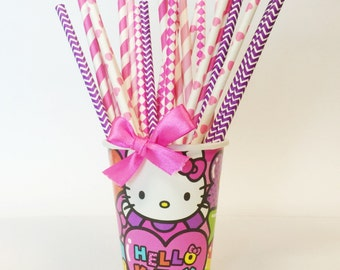 Hello Kitty Party Straw