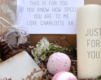Personalised just for you gift box