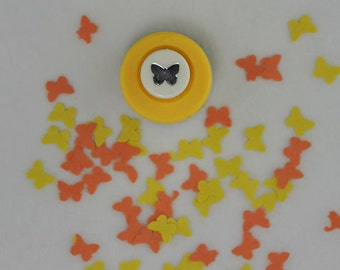 "Mini Butterfly Scrapbooking Wedding Favor Paper Punch 3/8"" in Size"