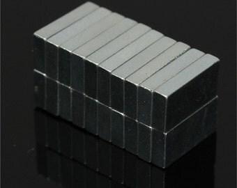 20pcs 10 x 5 x 2mm Cuboid N52 NdFeB Magnetic Materials Block Rare Earth Neodymium Permanent Super Strong Magnets