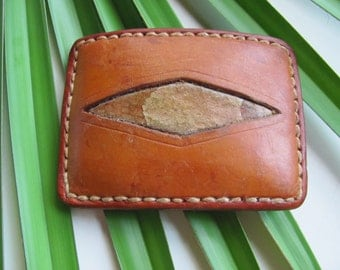 Copperhead, Leather, and Brass Belt Buckle