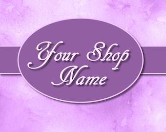 Premade Logo Design, Premade Logo, Premade Design, Logo Etsy Design, Shop Logo Design, Custom Logo Design, Premade Logo Set, Logo Set