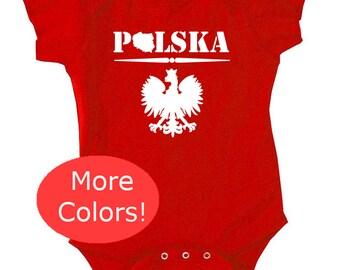 POLISH BABY, polish eagle baby, poland baby, poland, polska, polska baby, polish eagle, polska t shirt, polish t shirt, polish clothing,