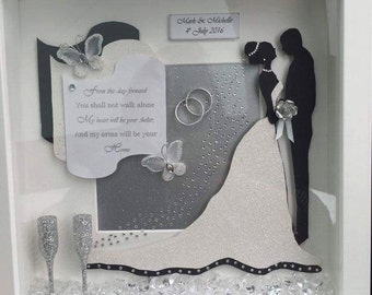 hand crafted personalised frames
