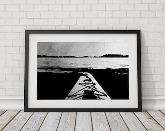Original design kayak print