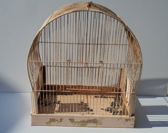 Vintage Pink Shabby Chic Birdcage