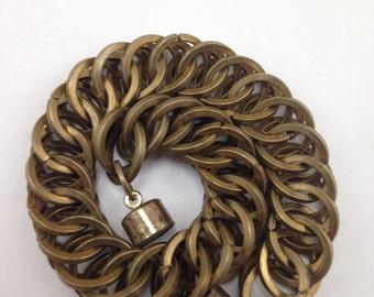 Brass Chainmail Bracelet (HP 4-1)