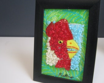 Fused Glass Chicken (117)