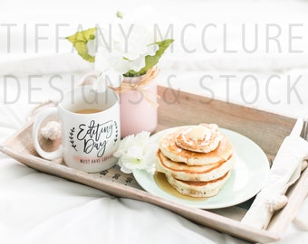 Breakfast In Bed | Styled Stock Photography