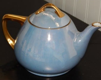 Lusterware Tea Pot
