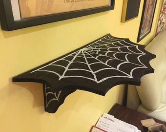 Spider Web Shelf