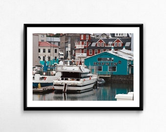 Harbour / Iceland / Analogue Photography / Travel / Artic / Decoration
