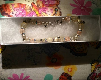 """11"""" Anklet with bells"""