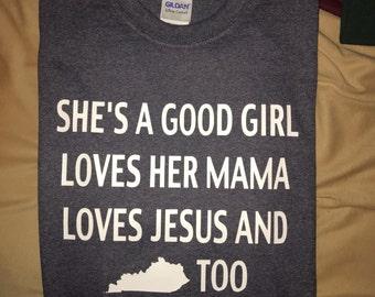 She's A Good Girl Shirt