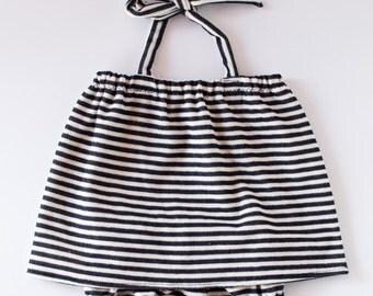 Striped Sunsuit