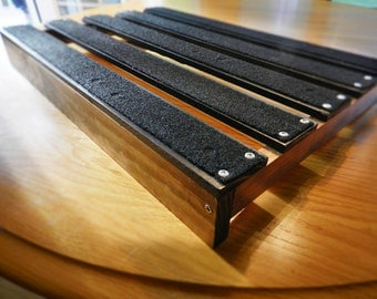 pedalboard etsy. Black Bedroom Furniture Sets. Home Design Ideas