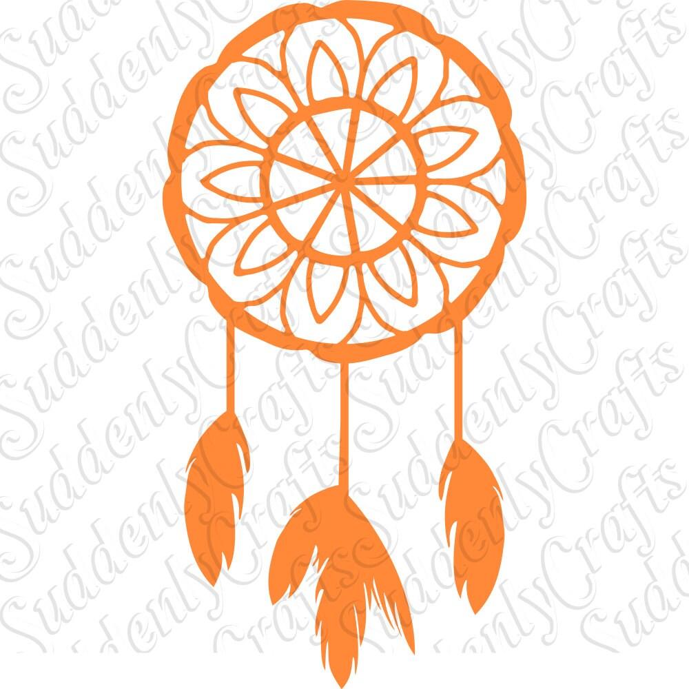Flower Dream Catcher SVG