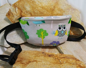 HipBag owls, belt bags, hip bag, Fanny Pack