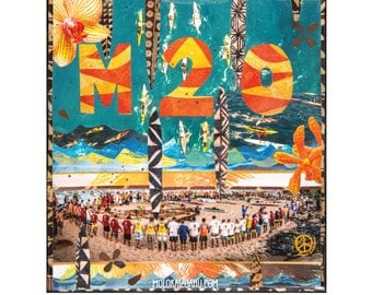 20th Anniversary M2O Limited Edition Poster