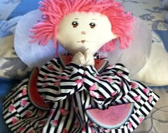 Analiese Handmade Cloth Angel Doll