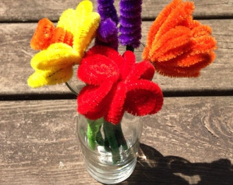 PipeCleaner Floral Bouquets