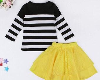 Skirt and shirt set